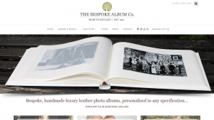 Bespoke Album Company Website Ilkeston Nottingham