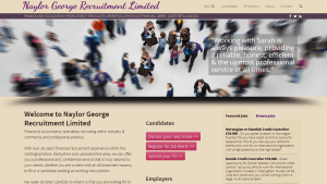 Recruitment Website Nottingham
