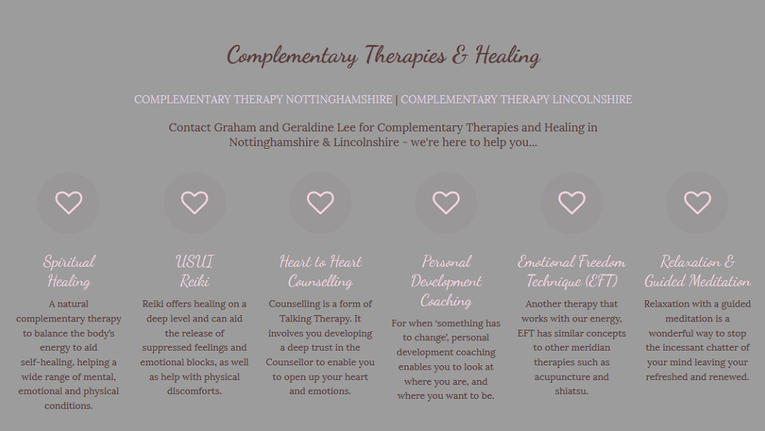 Therapist Website - Therapy & Healing Services
