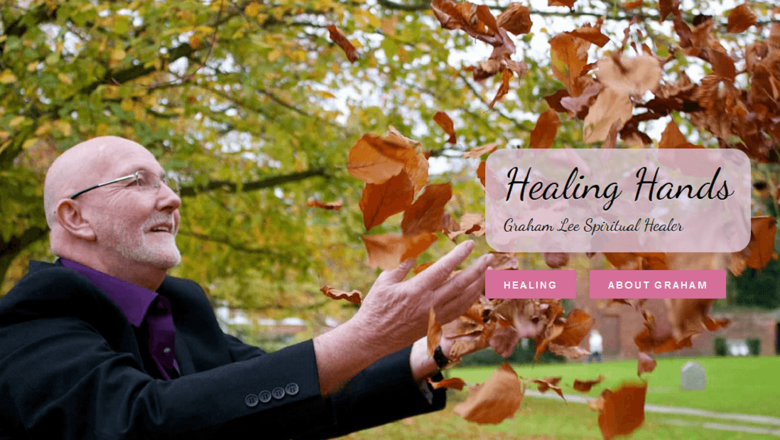 Therapist Website - Healing Hands