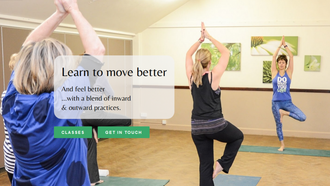 Yoga Website Design - Therapy Website Design