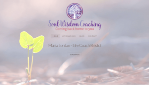 Life Coach Website Design