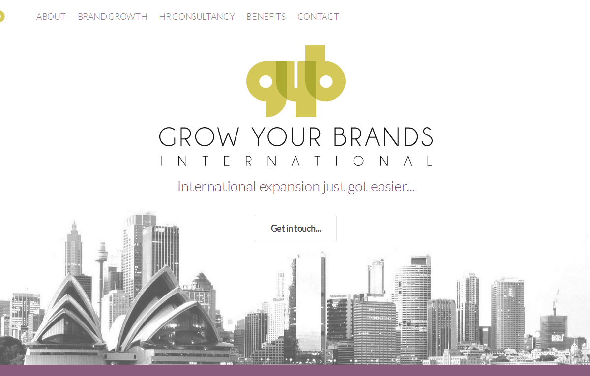 Grow Your Brands - New Business Website Design