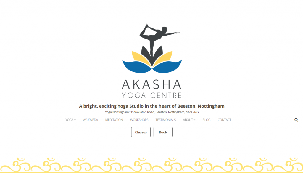Yoga Centre Website Design